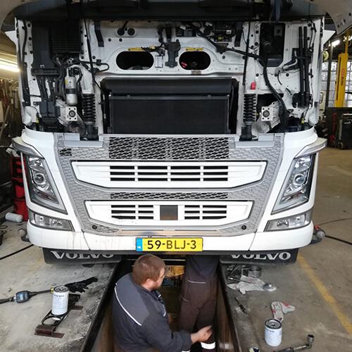Vrachtwagen reparaties Werkplaats Groot-Ammers 1